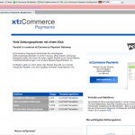 xt:Commerce 4.1 Backend - xt:Payments